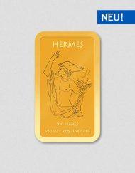 Griechische Götter - Hermes - Goldbarren - Numiversal