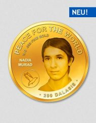 Peace for the World - Nadia Murad - Goldmünze - Numiversal