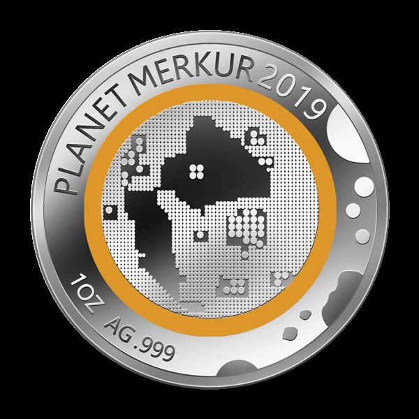 Unsere Planeten - Merkur - 2019 - Silber - Numiversal