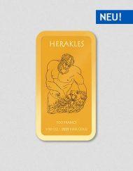 Griechische Götter - Herakles - Goldbarren - Numiversal