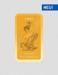 Griechische Götter - Hebe - Goldbarren - Numiversal