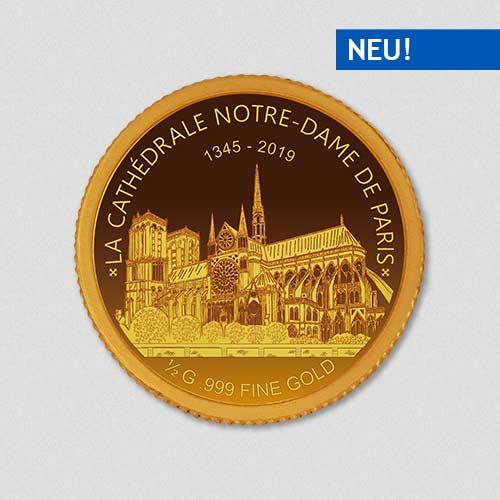 Notre Dame - Goldmünze - Numiversal