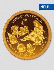 Schneewittchen - Goldmünze - Numiversal