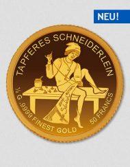Das tapfere Schneiderlein - Goldmünze - Numiversal