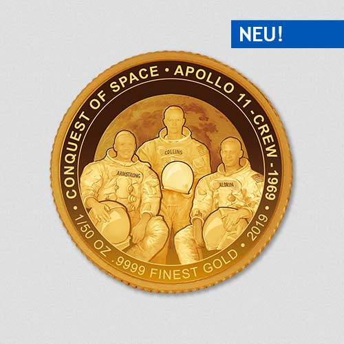 Conquest Space - Apollo XI - Goldmuenze - Numiversal