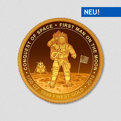 Conquest of Space - First Man on the Moon - Goldmuenze - Numiversal