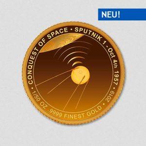 Conquest of Space - Sputnik - Goldmuenze - Numiversal