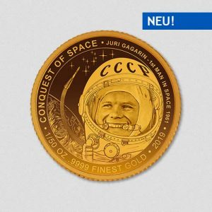 Conquest of Space - Juri Gagarin - Goldmuenze - Numiversal