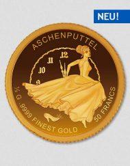 Aschenputtel - Goldmünze - Numiversal