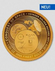 Conquest of Space - Voyager Golden Record - Goldmuenze - Numiversal