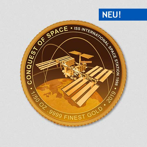 Conquest of Space - ISS - Goldmuenze - Numiversal