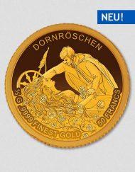 Dornröschen - Goldmünze - Numiversal