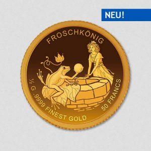 Der Froschkönig - Goldmünze - Numiversal