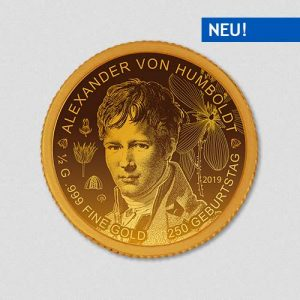 Alexander von Humboldt - Goldmünze - Numiversal
