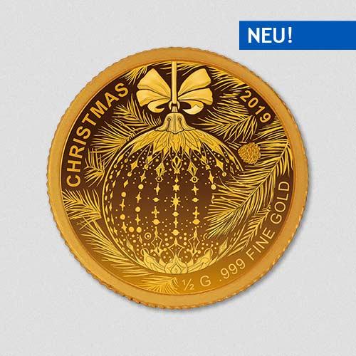 Weihnachten - 2019 - Goldmünze - Numiversal