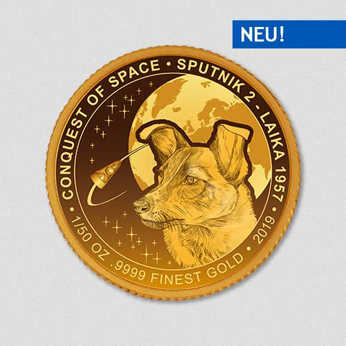 Conquest of Space - Sputnik II - Goldmuenze - Numiversal