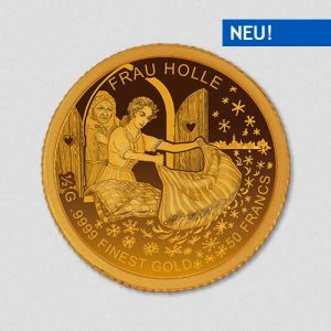 Frau Holle - Goldmünze - Numiversal
