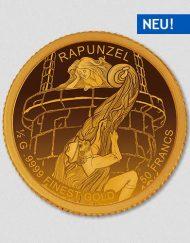 Rapunzel - Goldmünze - Numiversal
