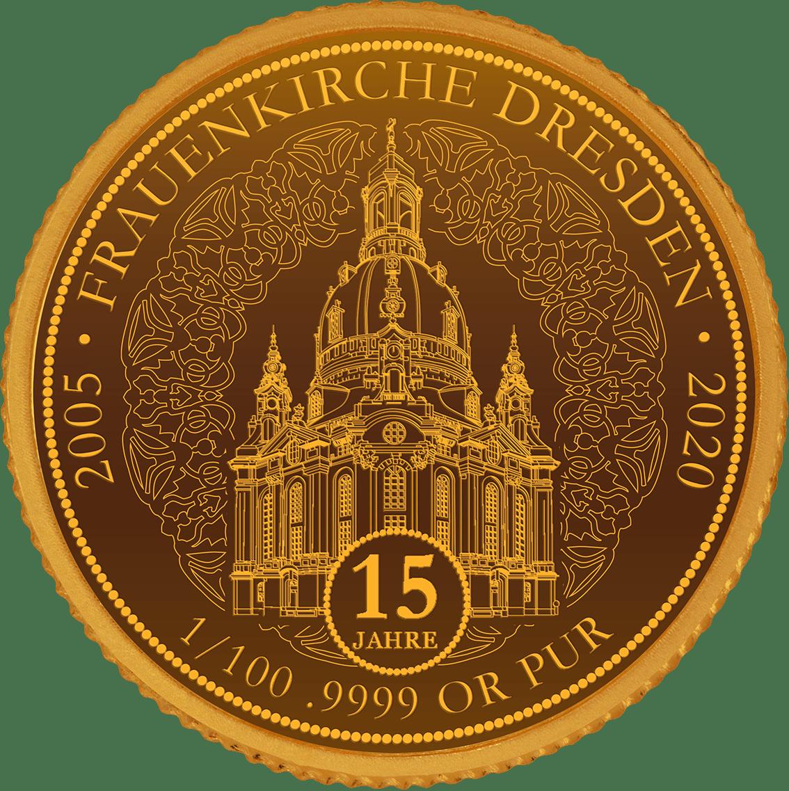 15 Jahre Frauenkirche Dresdensden
