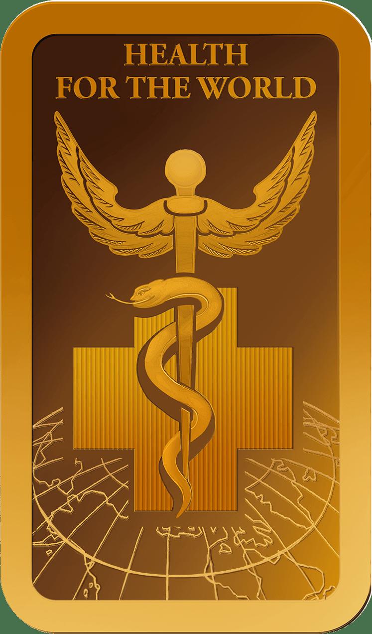 Corona Health for the world Gold_Barren