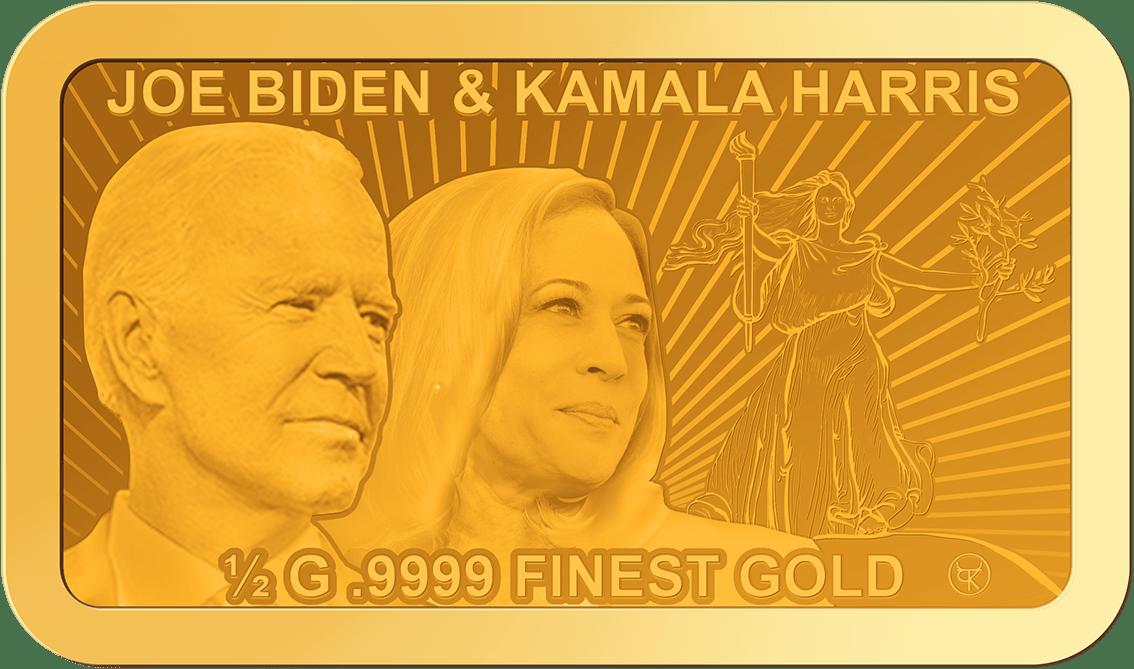 Joe Biden & Kamala Harris Barren