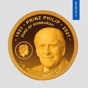 Sterbemünze Prinz Philip